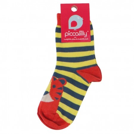 Piccalilly Tiger Feet Socks