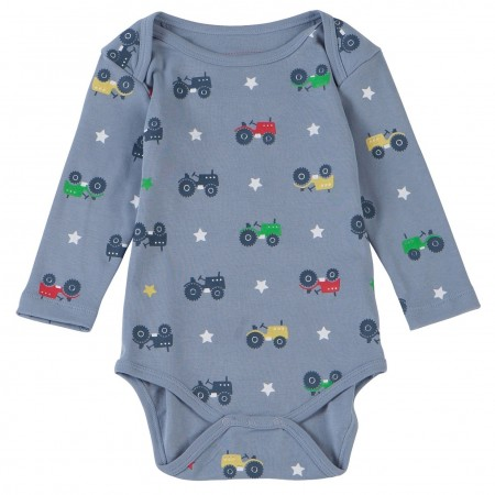 Piccalilly Tractor L/S Bodysuit