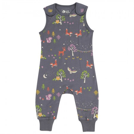 Piccalilly Winter Woodland Dungarees