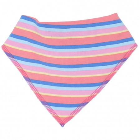Piccalilly Rainbow Stripe Bib