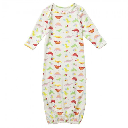 Piccalilly Floral Dinosaur Nightgown