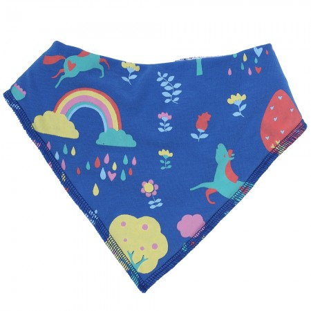 Piccalilly Rainbow Forest Bib