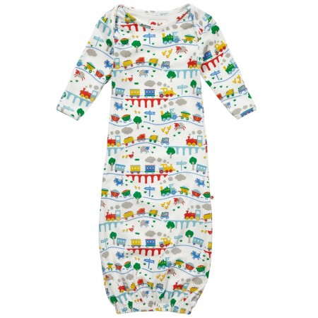 Piccalilly Rainbow Train Nightgown