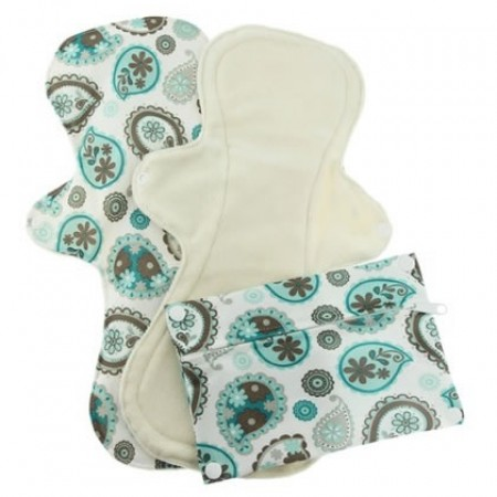 Pink Daisy Post-Partum Pads x 2