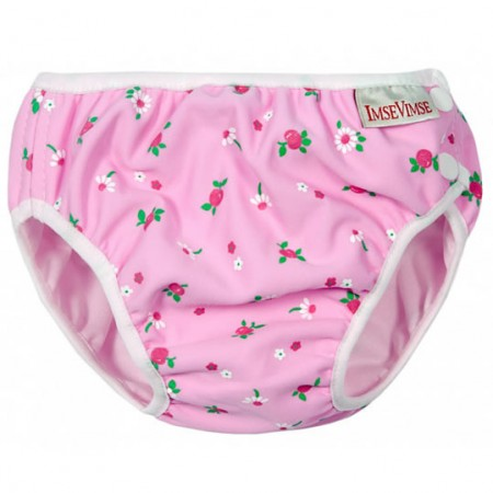 Imse Vimse Swim Nappy Pink Flowers