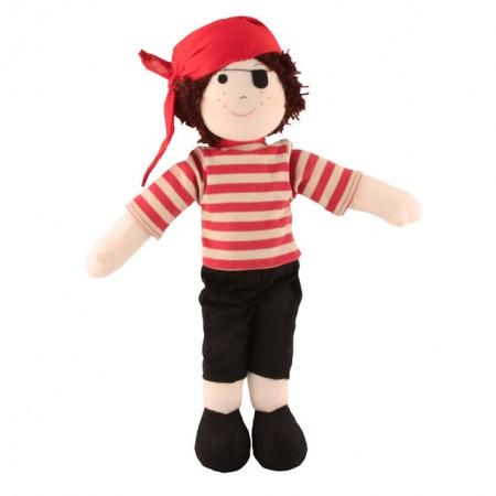 Fair Trade Rag Doll - Pirate