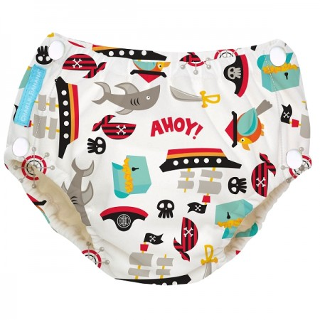 Pirate Swim Nappy & Training Pant