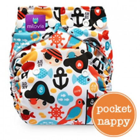 Milovia Pocket Nappies