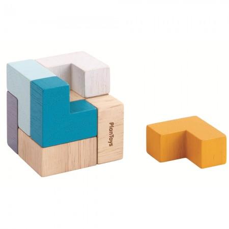 Plan Toys Mini 3D Puzzle Cube Tin