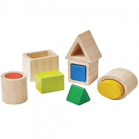 Plan Toys Geo Matching Blocks