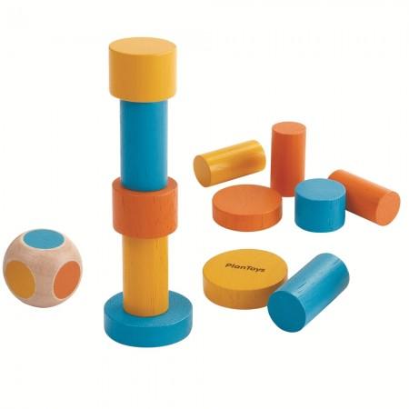 Plan Toys Mini Stacking Game Tin
