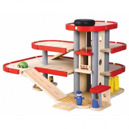 Plan Toys Original Parking Garage