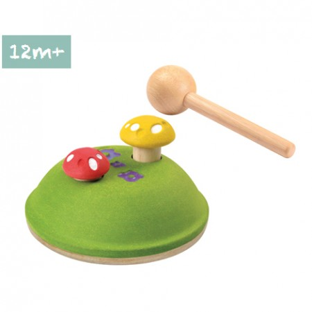 Plan Toys Pounding Mushrooms