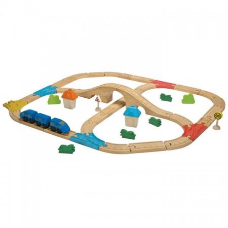 Plan Toys Railway Set PlanWorld