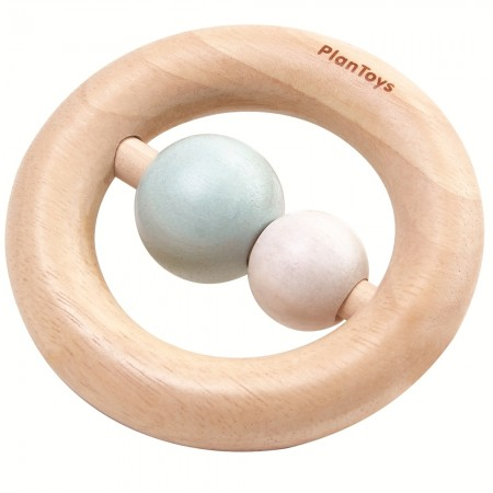 Plan Toys Pastel Ring Rattle
