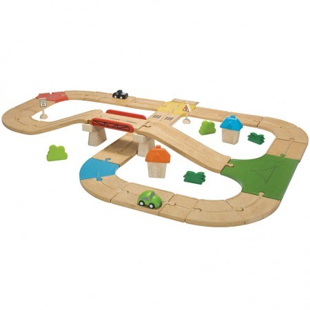 Plan Toys Roadway Set