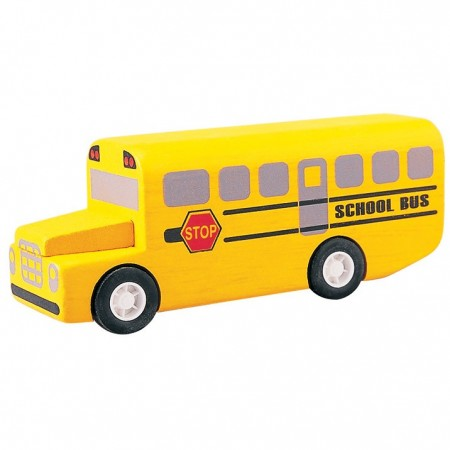 Plan Toys City School Bus