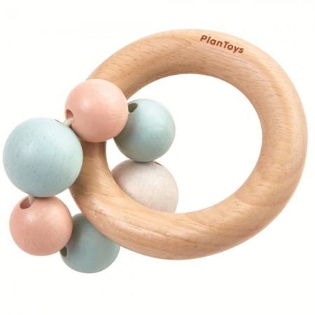 Plan Toys Pastel Beads Rattle
