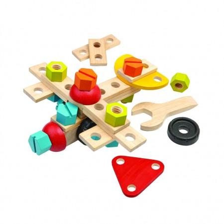 Plan Toys 40-Piece Construction Set