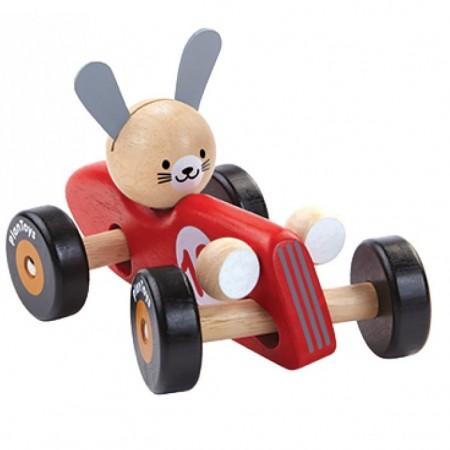 Plan Toys Rabbit Racing Car