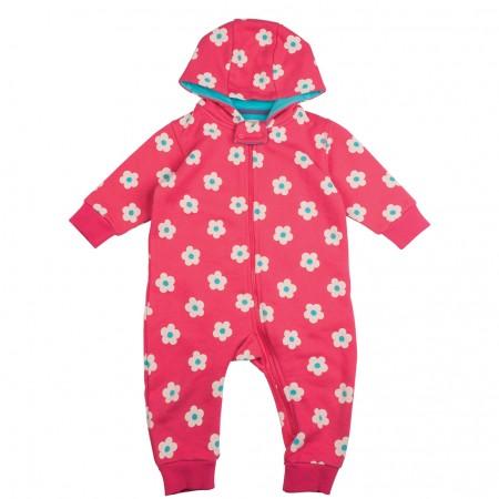 Frugi Daisy Spot Snuggle Suit