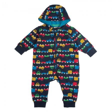 Frugi Traffic Jam Snuggle Suit