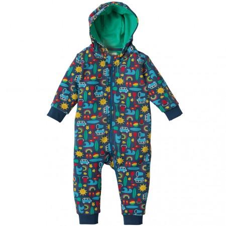 Frugi Road Trip Snuggle Suit
