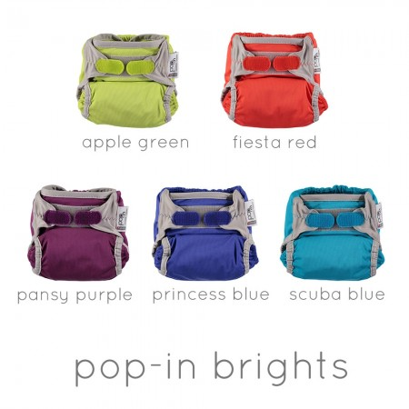 Pop-in Bright Single Nappies