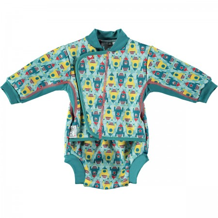 Pop-In Baby Cosy Suit Rockets