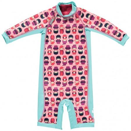 Pop-In Toddler Snug Suit Kokeshi Dolls