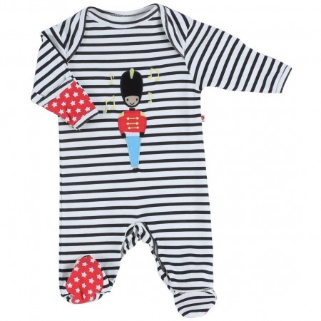 Piccalilly Toy Soldier Applique Romper