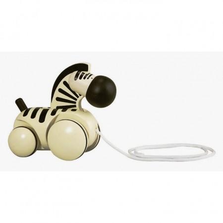 Plan Toys Pull-Along Zebra