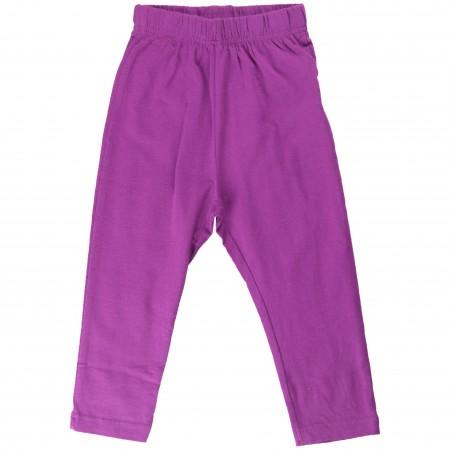 Maxomorra Purple Baby Leggings