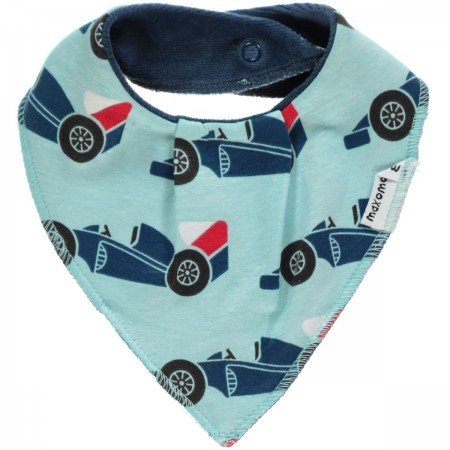 Maxomorra Race Car Dribble Bib