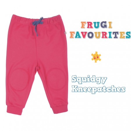 Frugi Raspberry Kneepatch Crawlers