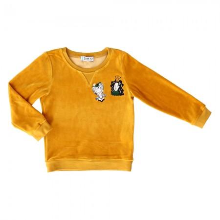 Raspberry Republic Velour Sacrebleu Sweatshirt