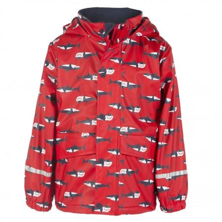 Frugi Sharks Puddle Buster Coat