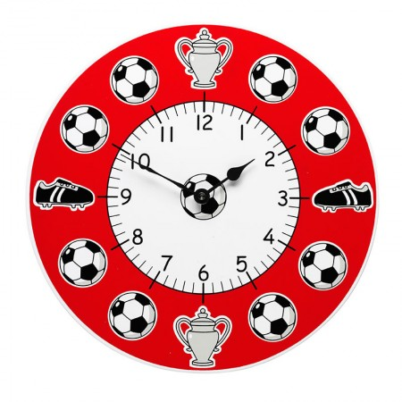 Lanka Kade Red Football Clock