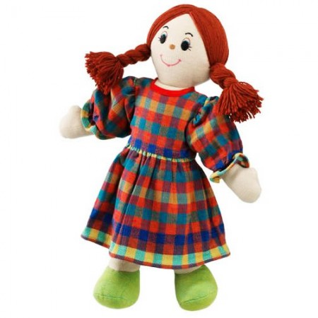 Lanka Kade Mum Doll - White Skin, Red Hair