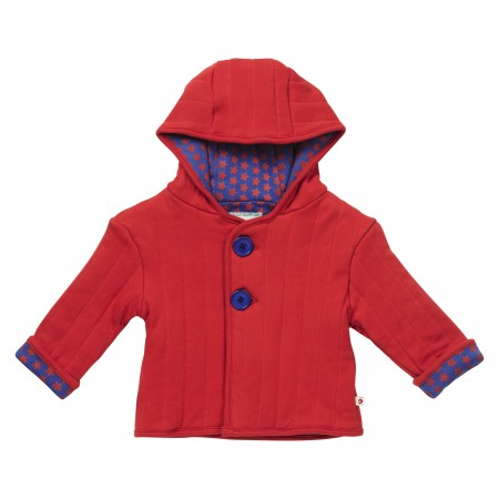 Piccalilly Red Padded Baby Jacket