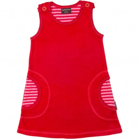 Maxomorra Red Kids Dress