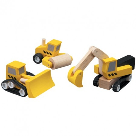 Plan Toys Road Construction Set