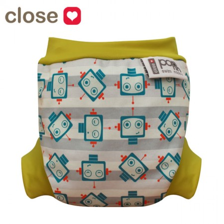 Pop-in Robot Swim Nappy