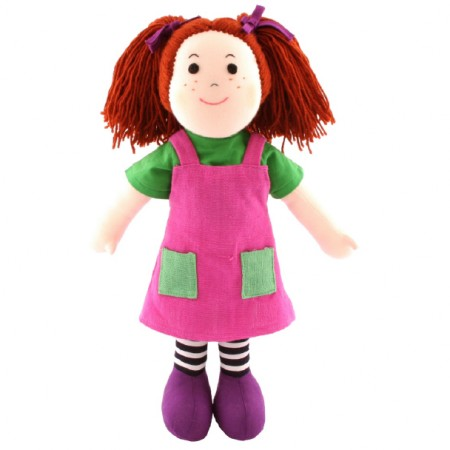 Fair Trade Rag Doll - Rosanne