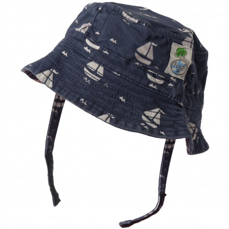 Frugi Little Toby Hat - Sail Away