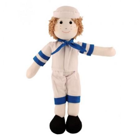 Fair Trade Rag Doll Sailor