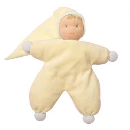 Peppa Yellow Sarah Waldorf Doll - 22cm