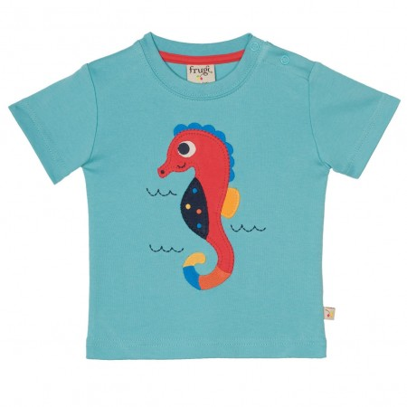 Frugi Little Creature Seahorse T-Shirt