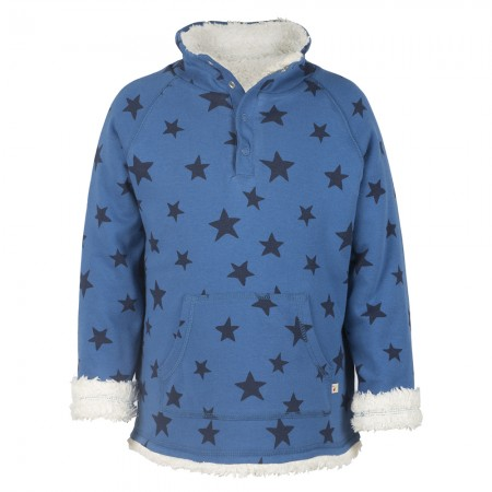 Frugi Blue Star Snuggle Fleece