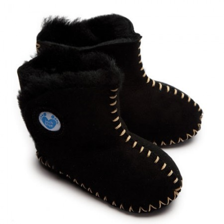 Cwtch Sheepskin Boots - Black